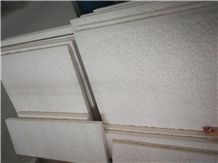 Limra White Limestone Picked Tile,Panel Exterior Floor Covering Patter