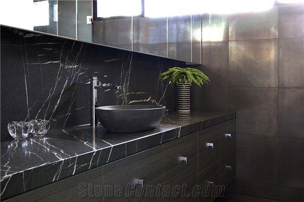 Pietra Grey Marble Modern Vanity Top Hotel Bath Top Customized Xiamen Gofar Stone Co Ltd