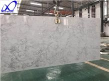 Carrara White Quartz Stone Slab,Engineered Stone Slabs