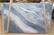 Azzurro Quartzite Slabs 3cm, Brazil Blue Quartzite