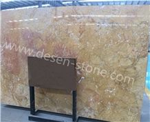 Kellen Gold/Karen Gold/Kellen Golden Marble Stone Slabs&Tiles Skirting