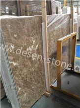 Ligth Crystal Emperador/Antalya Brown Marble Stone Slabs&Tiles Jumbo