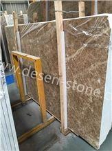 Ligth Crystal Emperador/Antalya Brown Marble Stone Slabs&Tiles Pattern