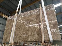 Ligth Crystal Emperador/Antalya Brown Marble Stone Slabs&Tiles Walling