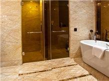 Golden Phoenix, Golden Spider Marble Slab&Tiles for Hotel Decoration