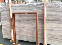 Greek Marble Wood Slabs & Tiles,Wood Grain White Marble Greece Marble