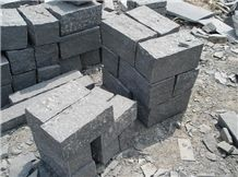 Black Basalt Palisade Stone G654, China Black Basalt Block