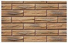 Brick Faux Stone Wall