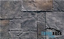 China Argillite Grey Artificial Stone Wall