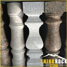 Granite Baluster Porch Railing Handrail for Exterior Stair