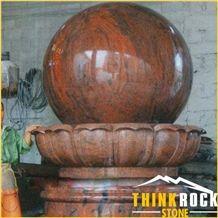 Granite Carving - Fountain for Garden Decoration, Landscape
