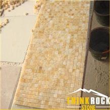 Honey Onyx Mosaic Tile for Kitchen Backsplash