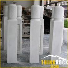 Marble Guangxi White for Stone Stair Railing and Baluster