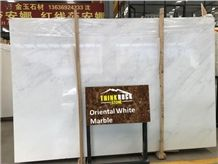 Oriental White Marble Slabs, Eastern White Marble China White Marble