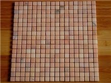 Pink/Red Marble Mosaic in Various Designs