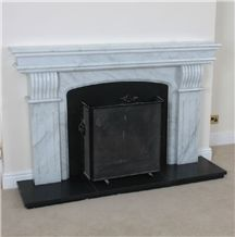 Polar White Marble Venus White Amazon White 20mm Fireplace