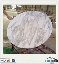 White Marble Coffee Table Top