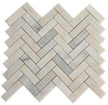 White Marble Mosaic for Floor Tiles