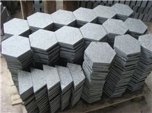 Basalt Cube Stone, Basalt Pavers, Basalt Driveway Paving Stone