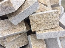 Sunset Gold Granite Paver, Golden Beige Granite, Desert Golden Split