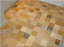 Burgundy Hardstone Mix Limestone Mix Tiles