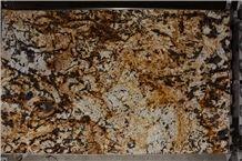 Granite Splendour Gold Slabs & Tiles, Brazil Yellow Granite