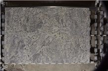 Granite White Storm Slabs & Tiles, Brazil White Granite