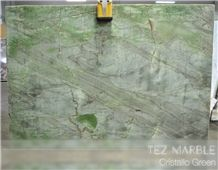 Cristallo Verde Quartzite Slabs