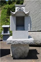 Tenzan Shidare Granite Small Shrine