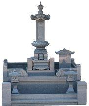 Tenzan Stone Monuments, Grave Stones