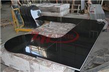 Paltinum Black Granite Countertop Vanity Island Absolute Black Granite