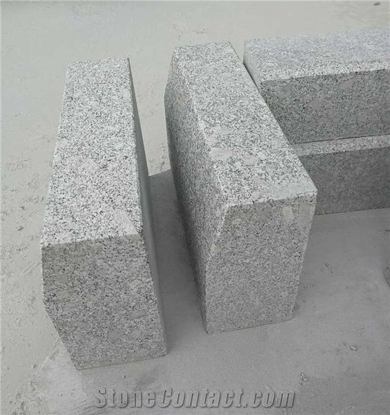 New Grey Granite Road Side Kerb Stone,Curbs,Curved,G341