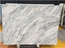 Cheap Spring Land White Grey Veins Marble Slabs Wall Background Tiles