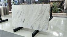 Erhai White Marble Black Vein Transmit Light Wall Background Tile