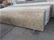 New Venetian Gold Granite Countertops,Kitchen Island,Tile Backsplash
