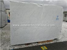 Import Block from Italy Directly,Carrara White Marble Slabs for Sale