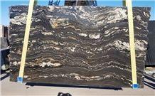 Portoro Quartzite Slabs, Polished