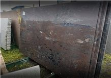 Brazil Exotic Haiti Brown Granite Slabs