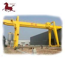 Tjqc-10 Outdoor Double Bridge Grantry Crane Lifting Height 10m