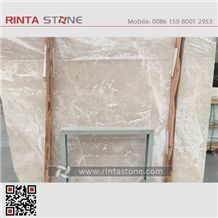 New Moon Beige Cloudy Marble Chang E Cream Stone Turkey Moonstone Slab