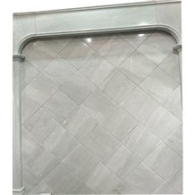 Panel Stone Design Floors Wall China Opal White Sunny Grey Marble