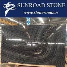Kenya Black Marble Zebra Black Marble Silver Wave Balck Marble Slabs