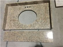 Soft Yellow Granite Kitchen Countertop
