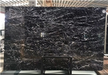 China Grigio Carnico Marble,Black&White Marble,Black Ice Flower Marble