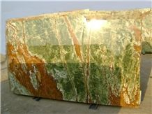Multi Green Onyx Slabs and Tiles