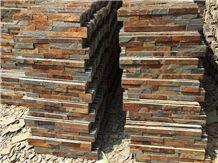 Z-Clad Multicolor Riven Slate Stacked Stone Veneer