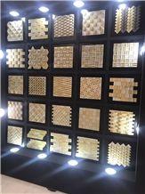 Antique Yellow Tuff Mosaic