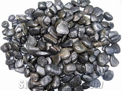 Black Pebbles Stone,Garden Pebbles,Landscaping Pebble Stone