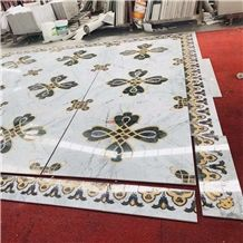 Decorative Marble Inlay Flooring Design