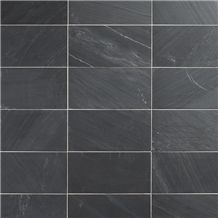 Anthracite Black Phyllite - Anthracite Grey Phyllite Floor Tiles